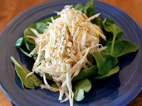 рецепты салаты с корня сельдерея рецепты